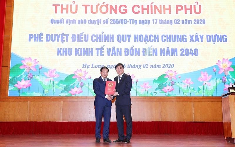 quang ninh cong bo quyet dinh dieu chinh quy hoach chung xay dung khu kinh te van don den nam 2040