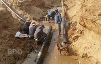 Gần 14 tỷ đồng mở rộng phạm vi cấp nước khu Đông Nam huyện Hoài Nhơn