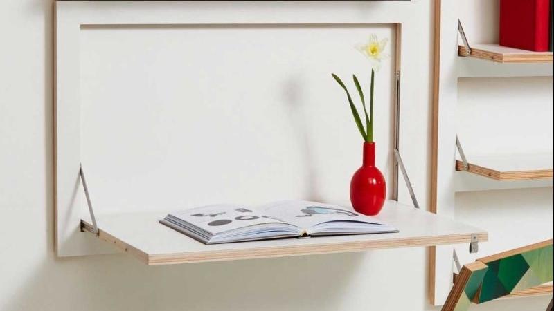 Tối ưu hoá không gian với bàn gấp tường hiện đại